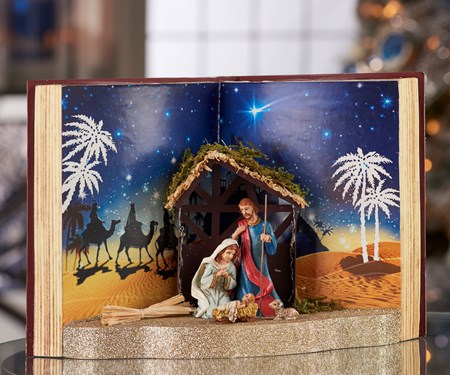 Nativity Storybook Design Decor