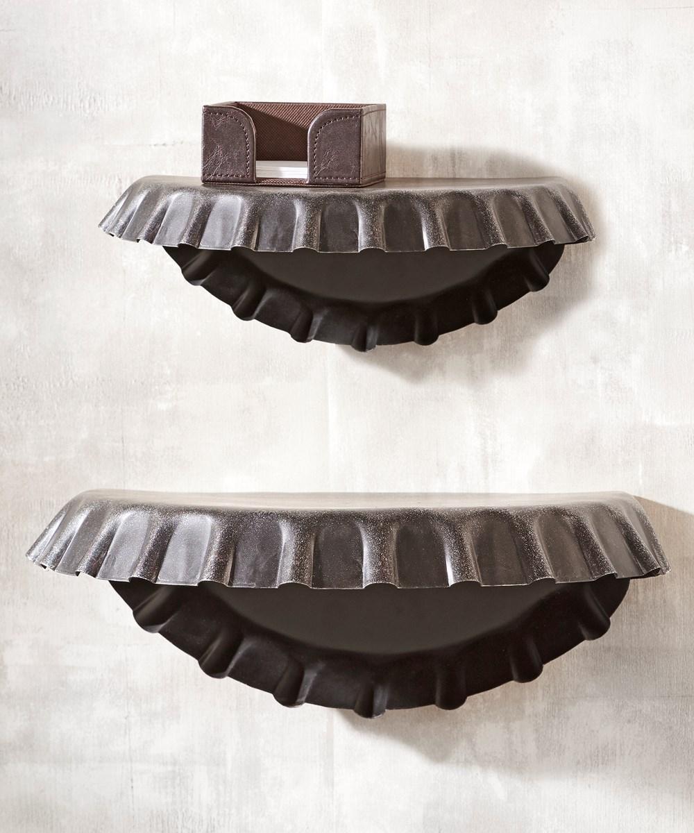 Iron Beer Cap Shelf - Large