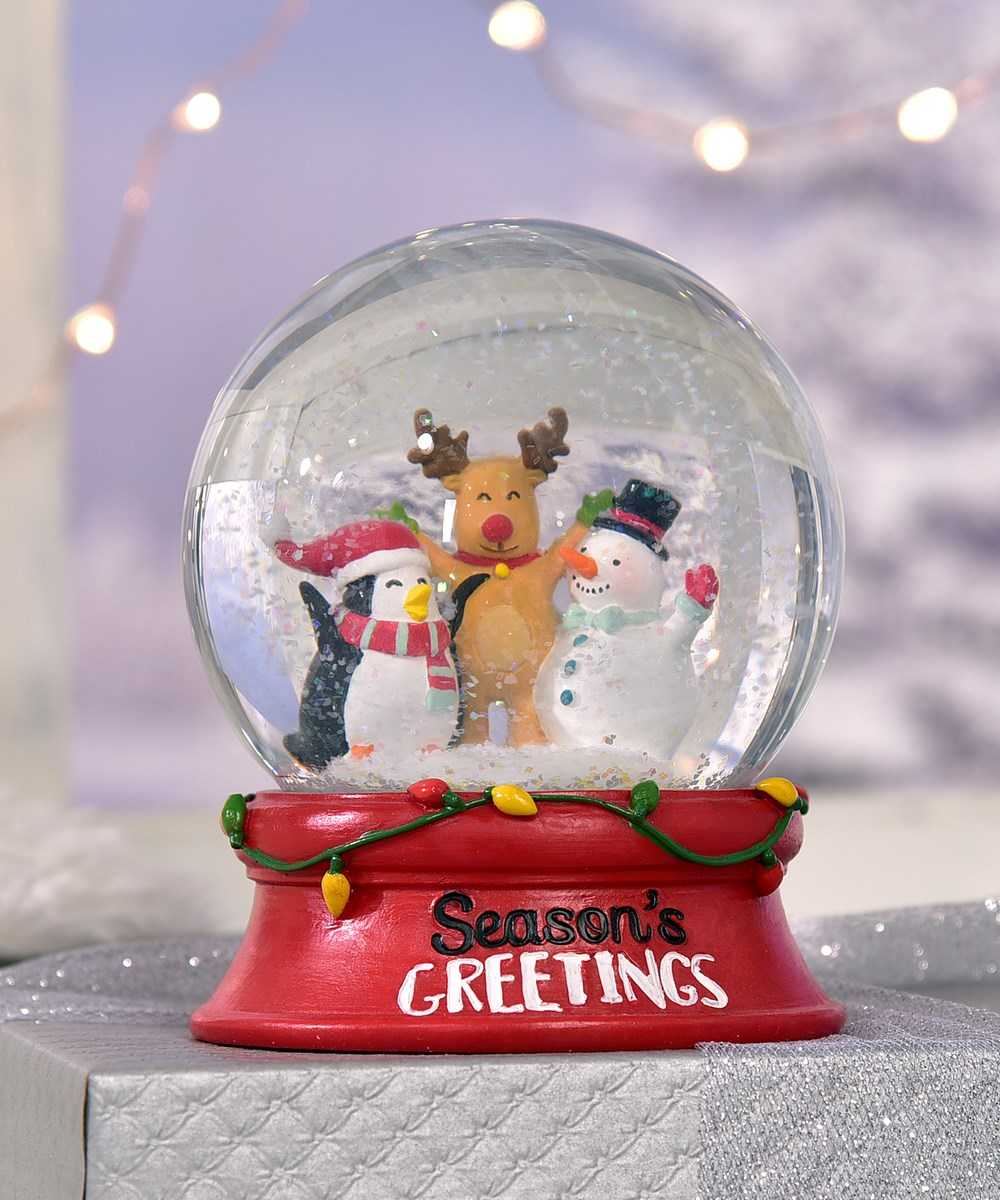 Rudolph and Friends Design Waterglobe