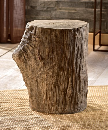 Wood Look Stool