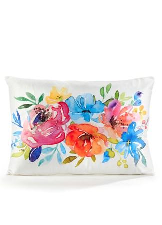 FloralLumbarPillowCover20x14