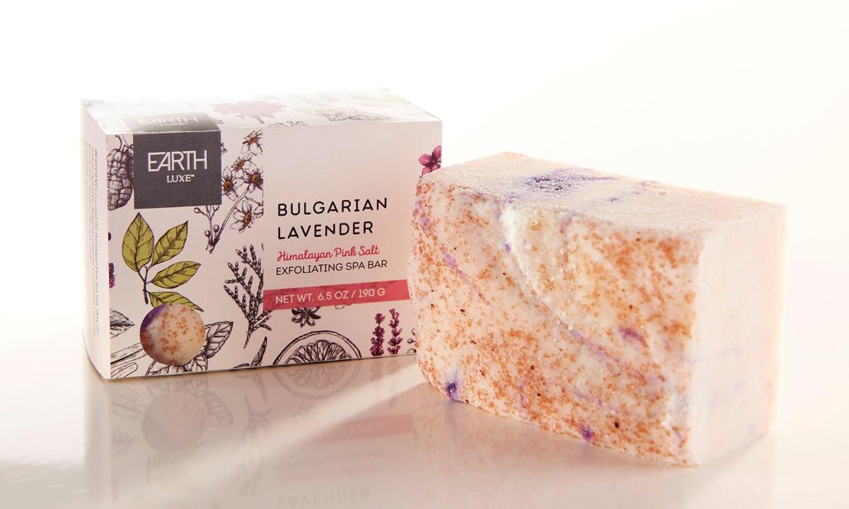 Himalayan Pink Salt & Bulgarian Lavender All Natural Soap