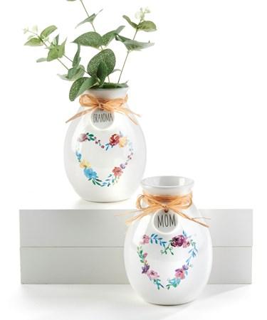 FloralHeartWreathVasewSentiment2Asst