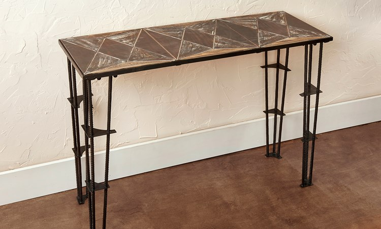 Tile Pattern Accent Table