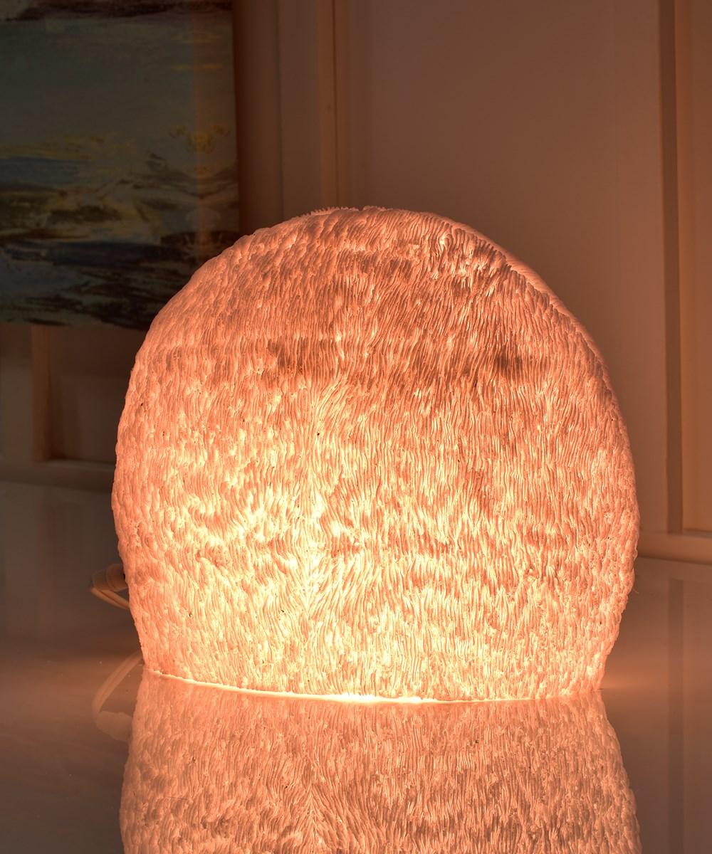 Figural Coral Lamp