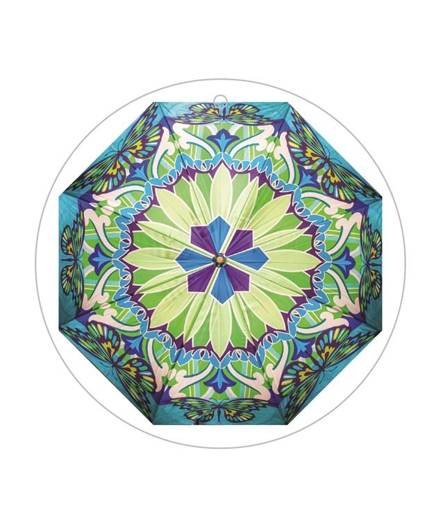 Satin Print Umbrella, 3/Asst.