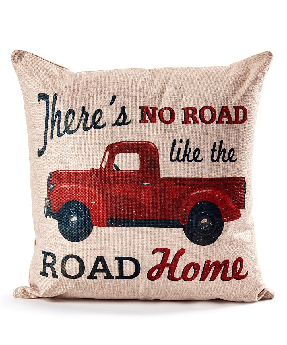 20x20 Decorative Pillow (Truck)