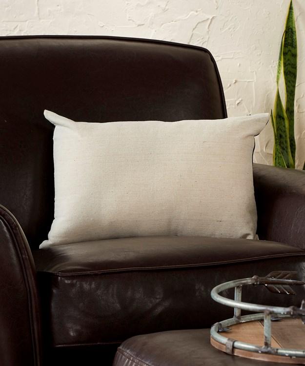 PU Cushion w/Patchwork