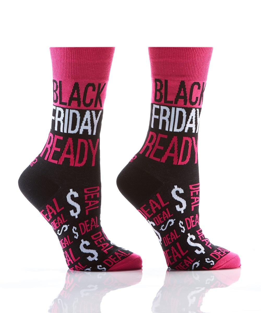 Women's Harvest Crew Sock, Black Friday Ready