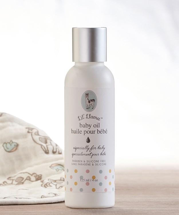 Lil' Llama Skin Care, Baby Oil