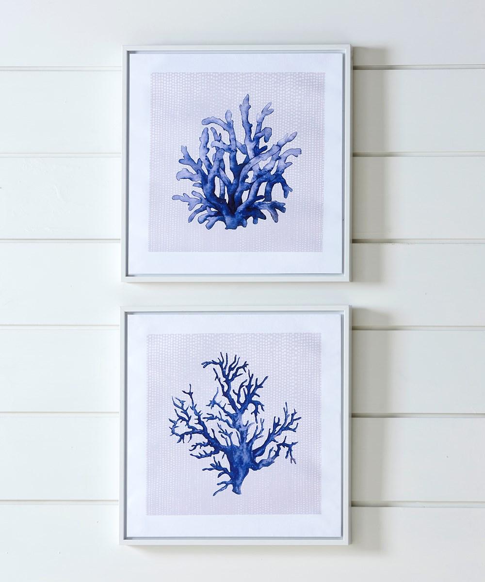 Canvas Print w/PS Frame, 2 Asst.