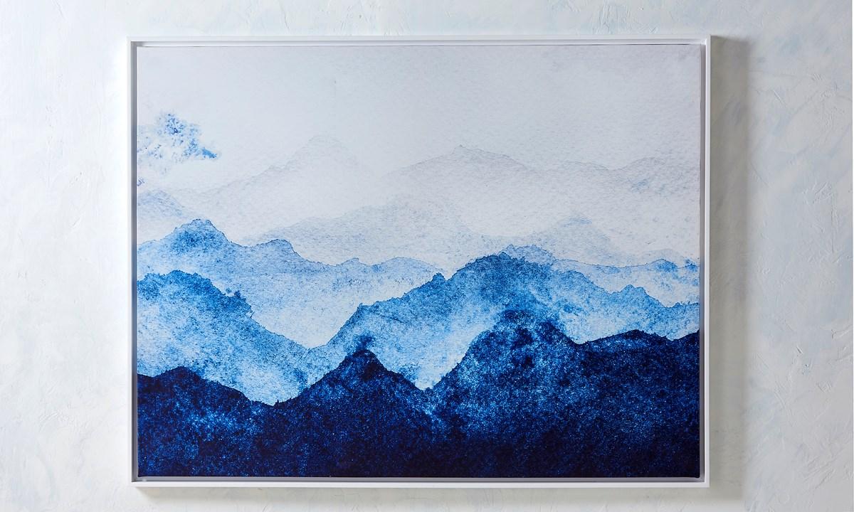 Canvas  Print w/Oil Paint