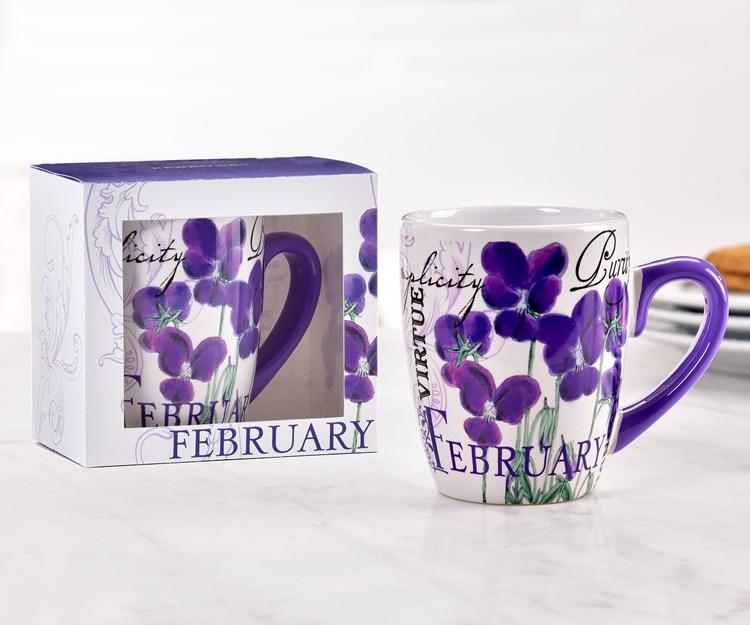 February Ceramic Mug