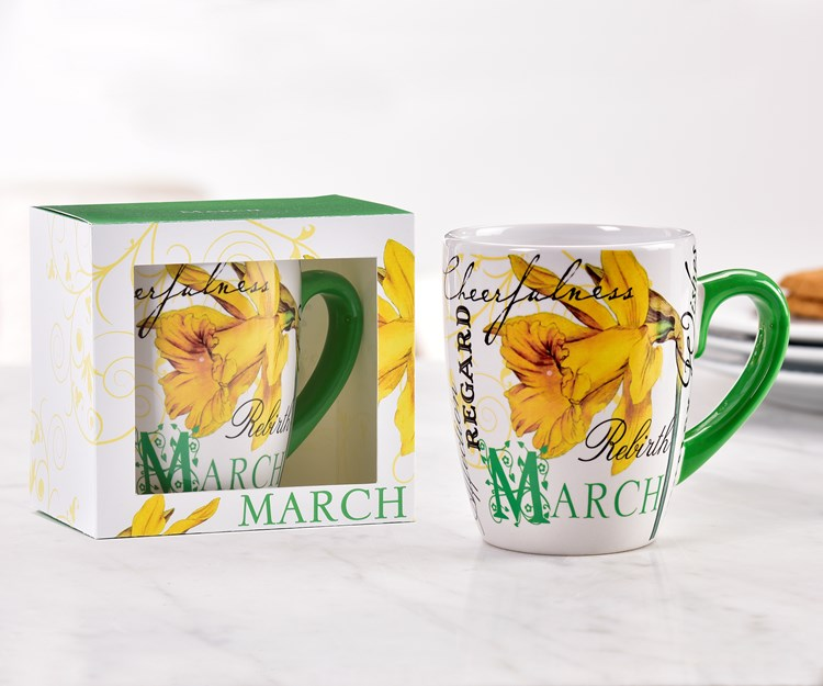 March Ceramic Mug