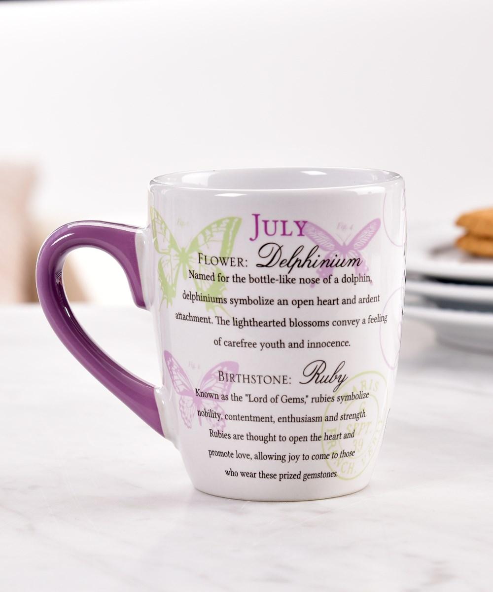 July Ceramic Mug