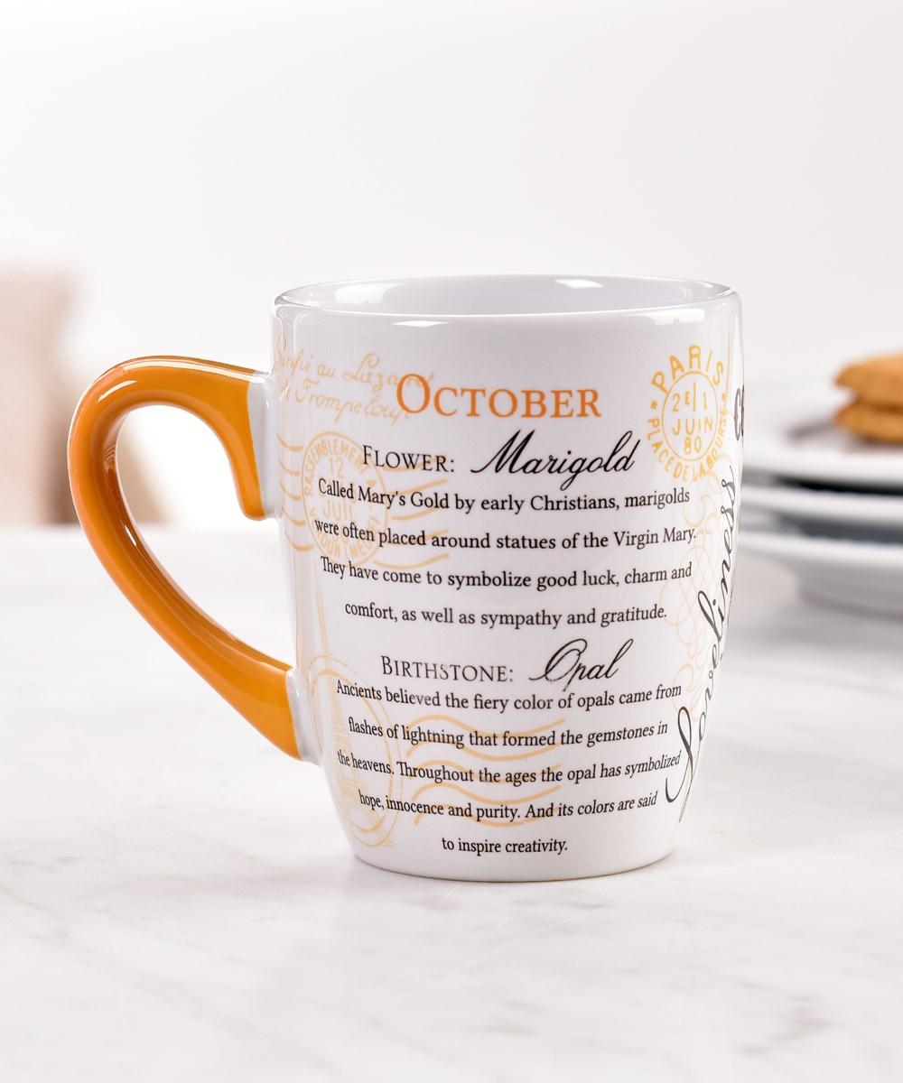 October Ceramic Mug