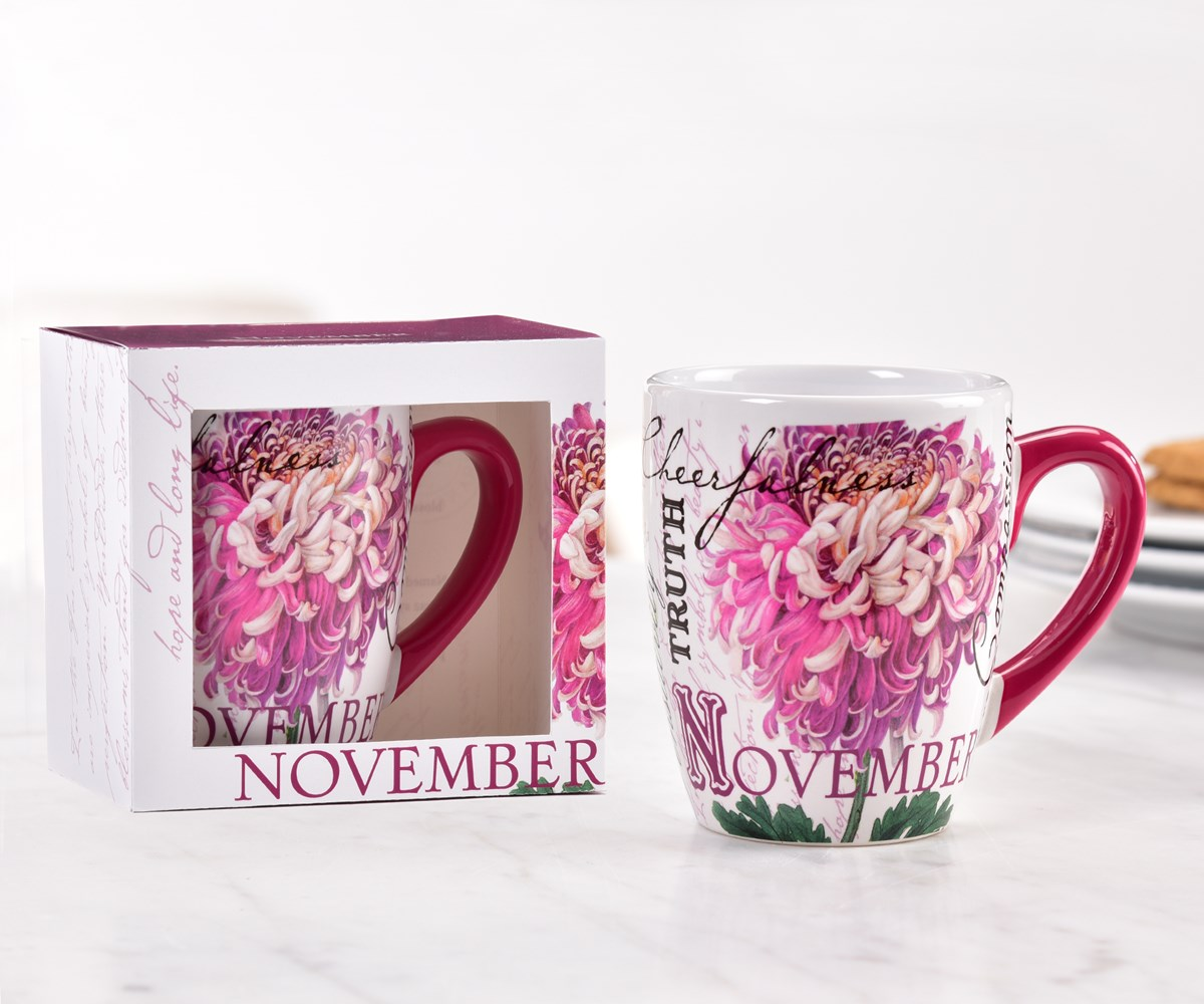 November Ceramic Mug