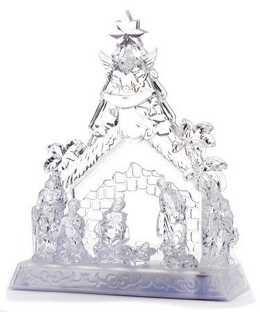 PS LED Nativity Scene