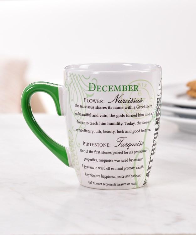 December Ceramic Mug