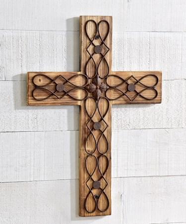 WoodWallCross