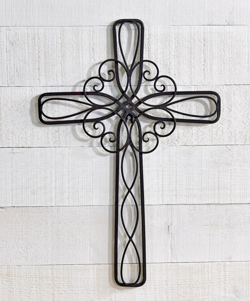 Iron Wall Cross