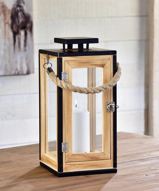 Lantern-Style Candle Holder