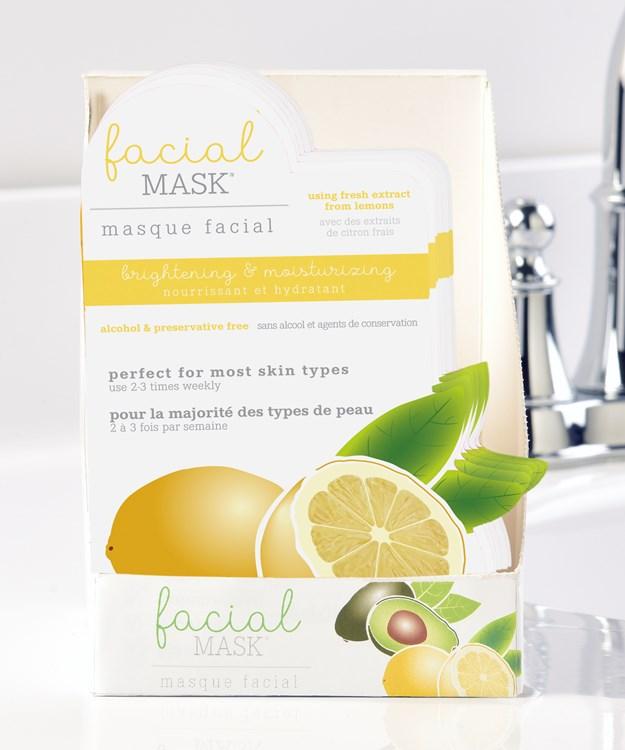 Lemon Facial Mask w/Displayer