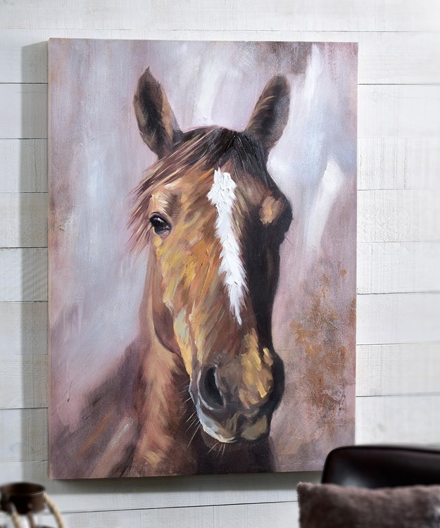 BrownHorsePainting