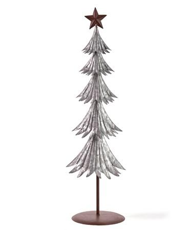 Lg.Iron Christmas Tree Deco