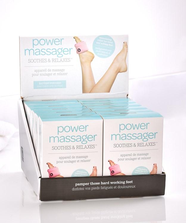 Vibrating Foot Massager w/Displayer