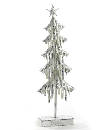 WhiteMetalTreewithLEDLights