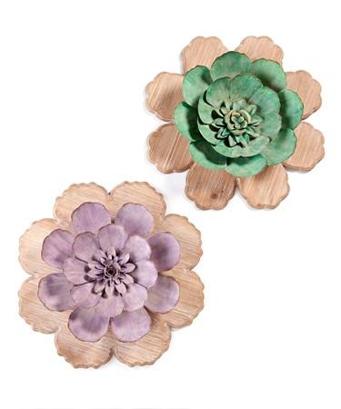 FlowerWallDecor2Asst