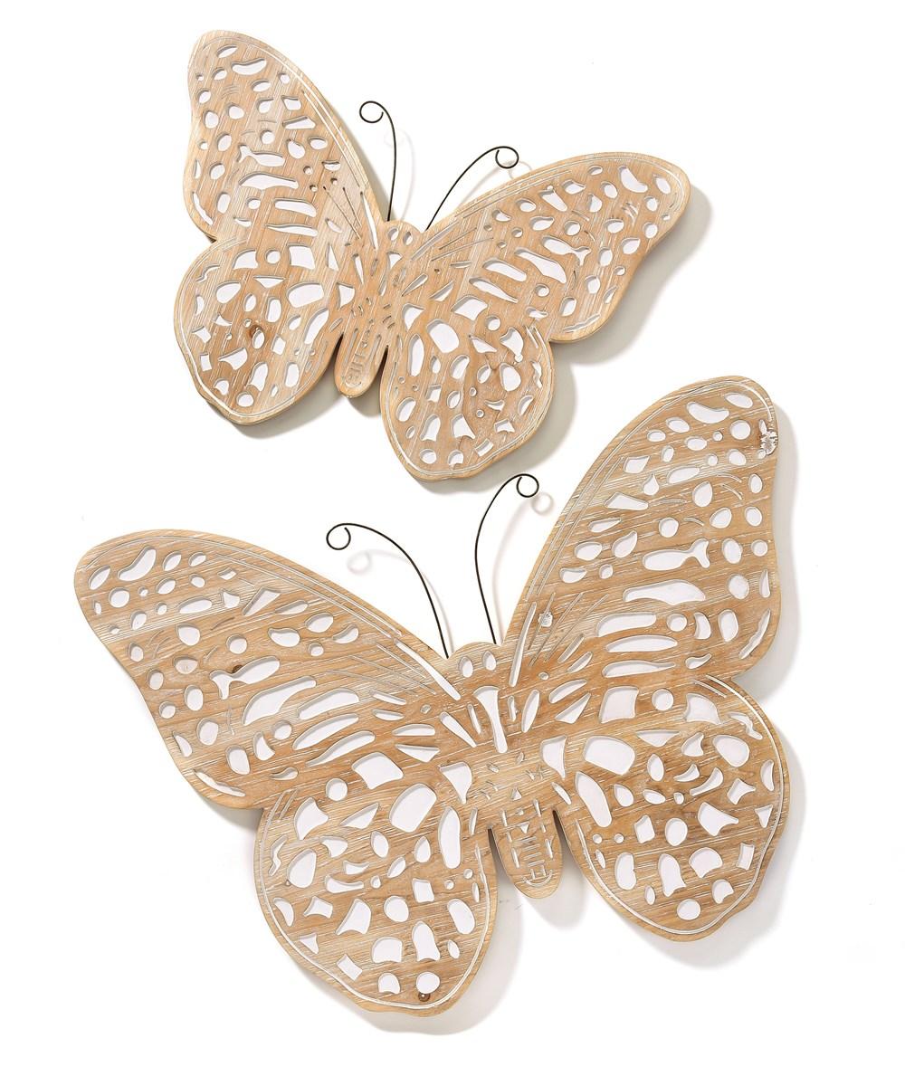 ButterflyWallDecorSetof2