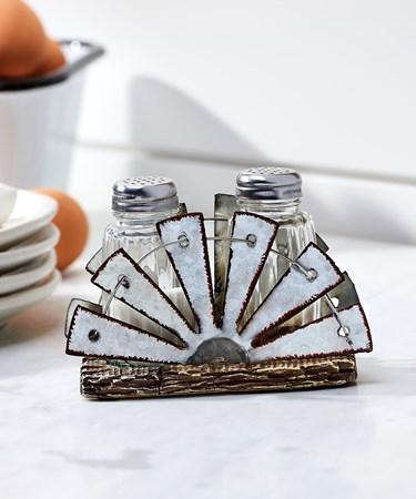 Windmill Salt & Pepper Shakers