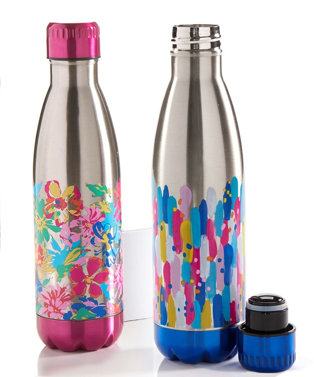 Double Wall Sport Bottle, 2 Asst.