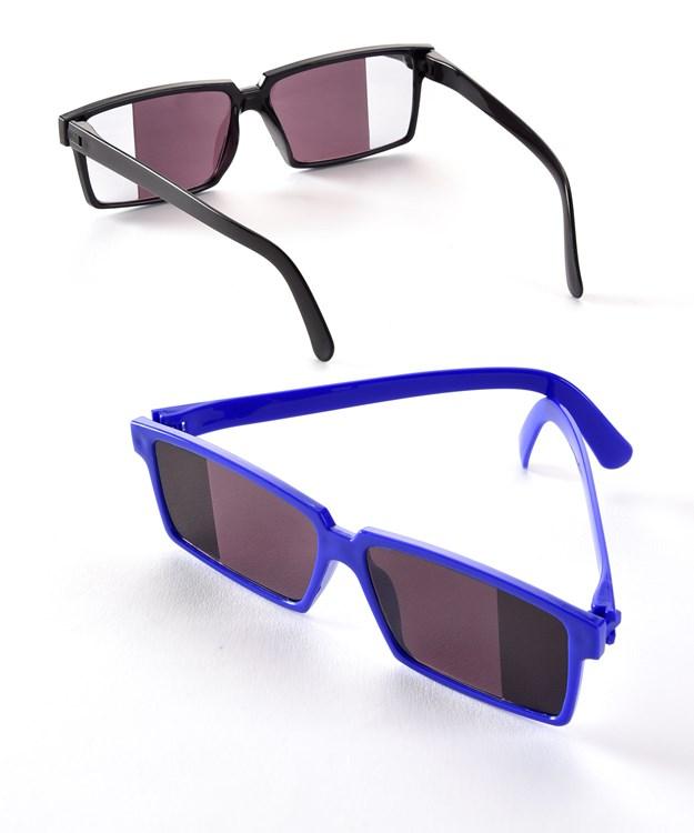 PP/PS Spy Eye Glasses, 2 Asst. w/Displayer