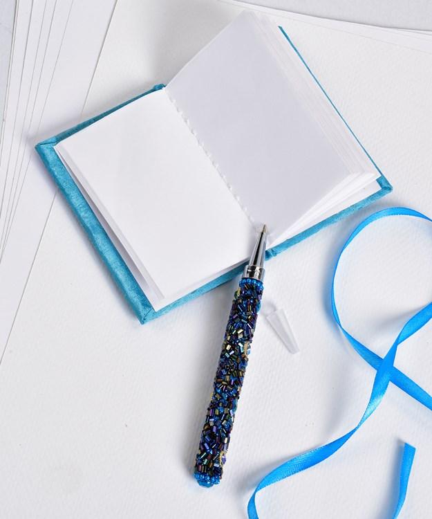 Sequin Notepad & Pen Set, 6/Asst.