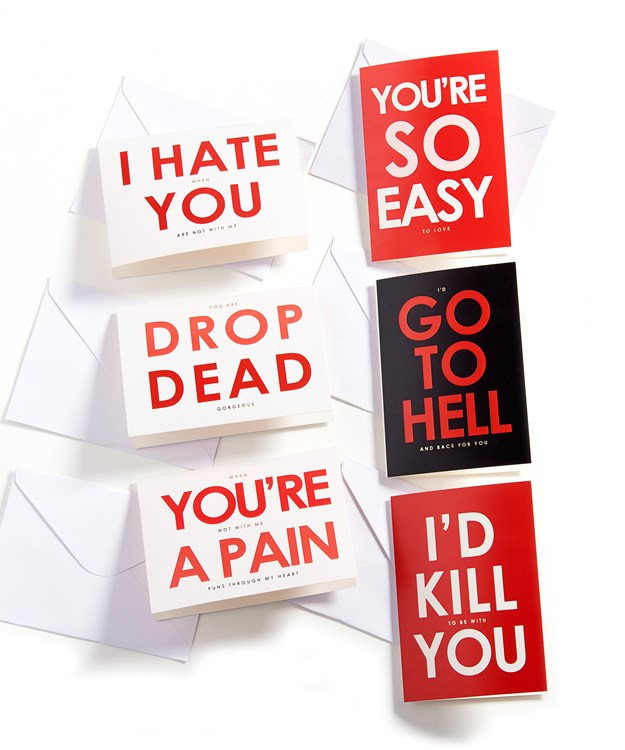 Quirky Card, 6 Asst. w/Displayer