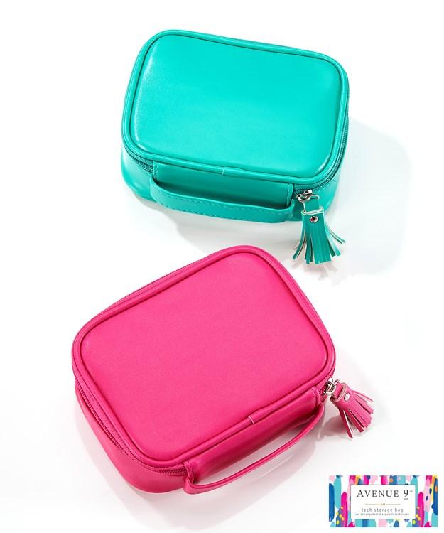 PU/Polyester Tech Storage Bag, 2 Asst.