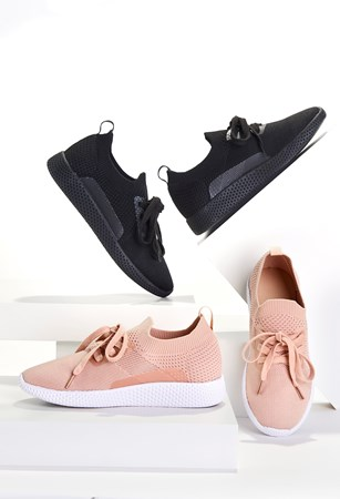 Charlie Paige, Knit Sneakers, 2 Asst., Pack/16
