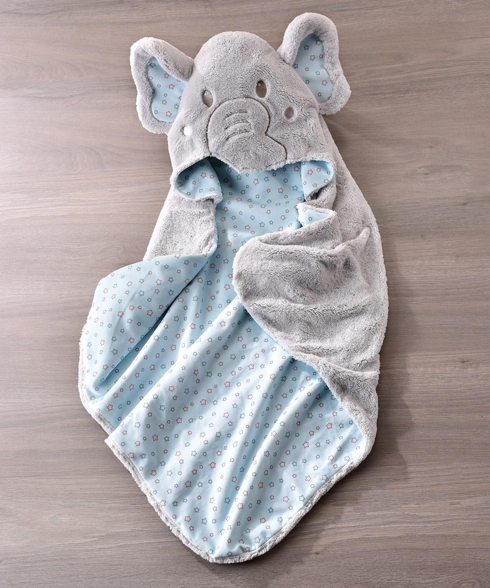 Li'l Elephant Character Design Hooded Bath Towel