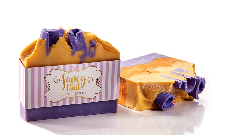 Fancy That Frangipani Scent Sliced Soap, 125 g