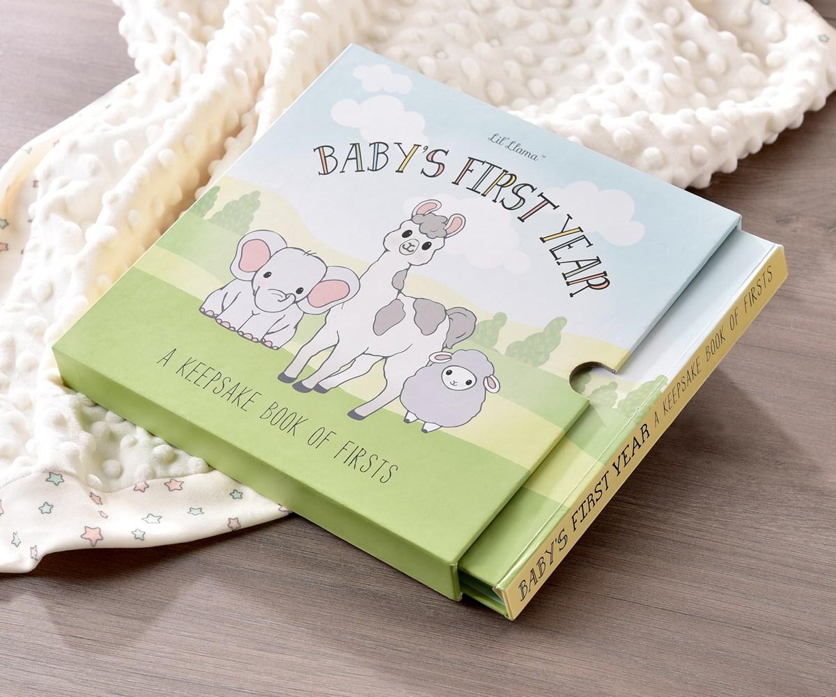 Lil' Llama Baby's 1st Memory Book