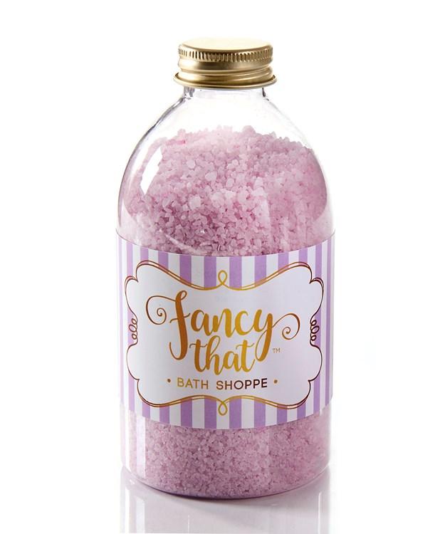 Fancy That Orchid Blossom Scent Bath Salt Soak, 550 g