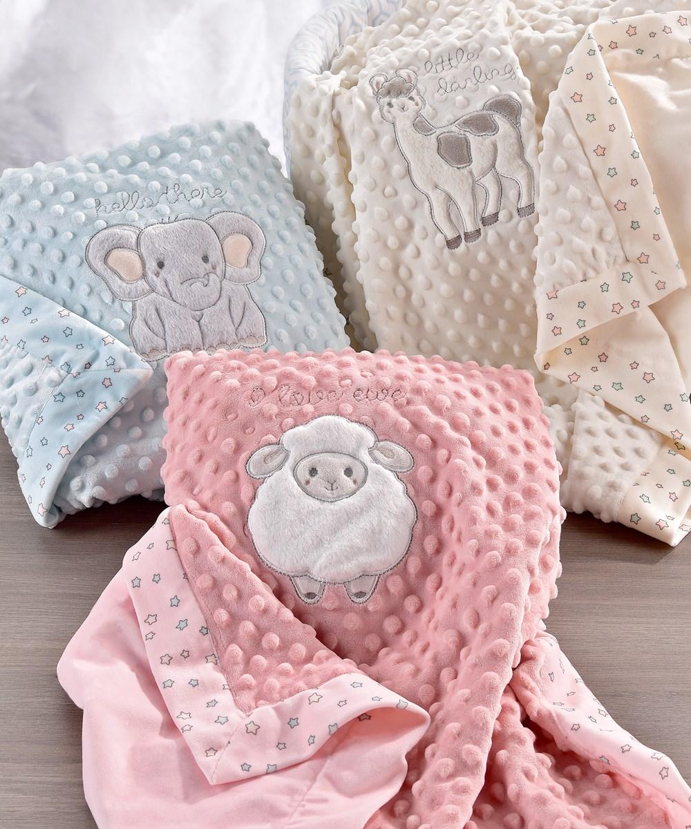 Lil' Llama Double-sided Blankets, 3 Asst.
