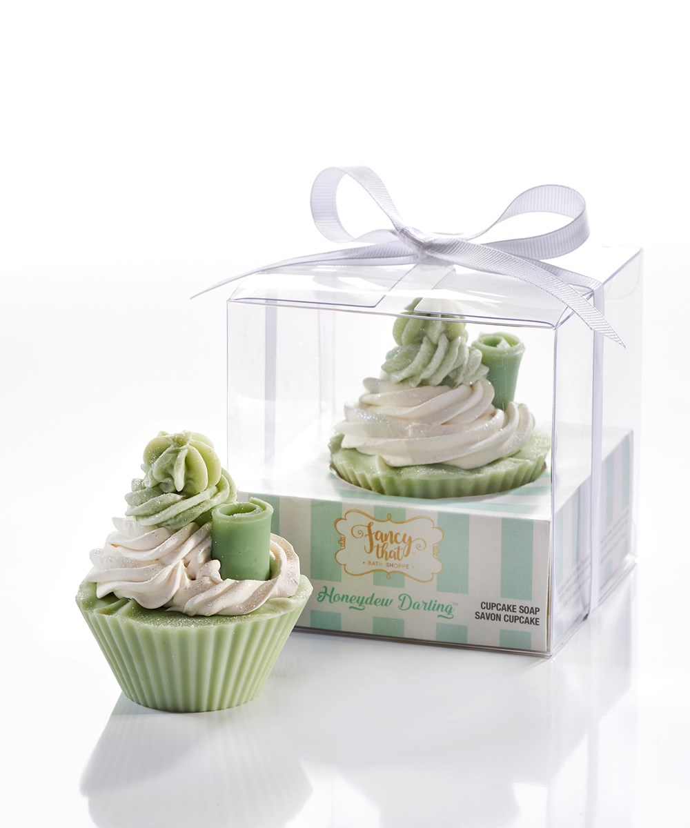 Fancy That All-Natural Handmade Cupcake Soap, Honeydew Darling