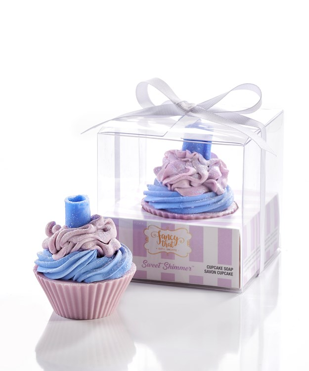 Fancy That All-Natural Handmade Cupcake Soap, Sweet Shimmer