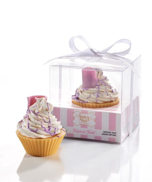 Fancy That All-Natural Handmade Cupcake Soap, Tropical Twist