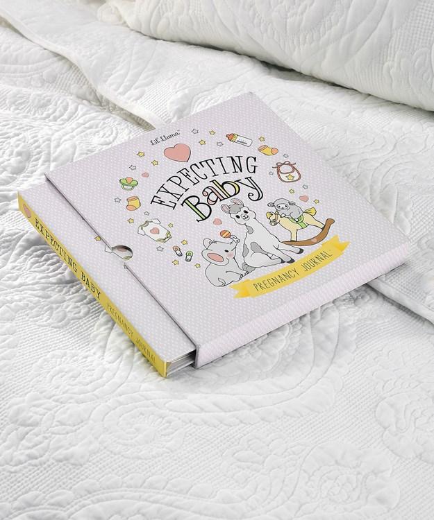 Lil' Llama Expecting Baby Memory Book