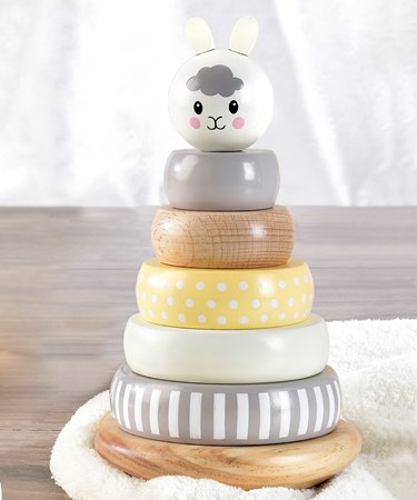 Wooden Stacking Toy, 3 Asst.